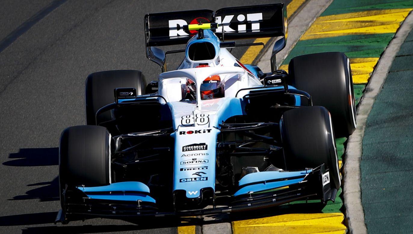Był to pierwszy start Roberta Kubicy w wyścigu F1 od ponad ośmiu lat (fot. PAP/EPA/DIEGO AZUBEL)