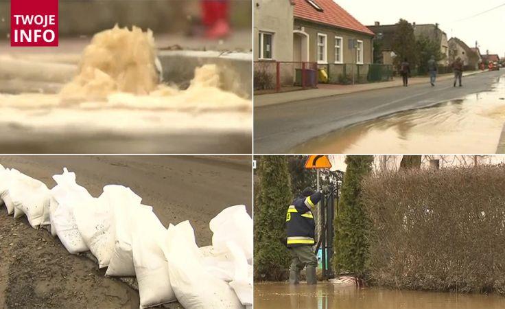 Działania strażaków trwały całą noc (fot.tvp.info)