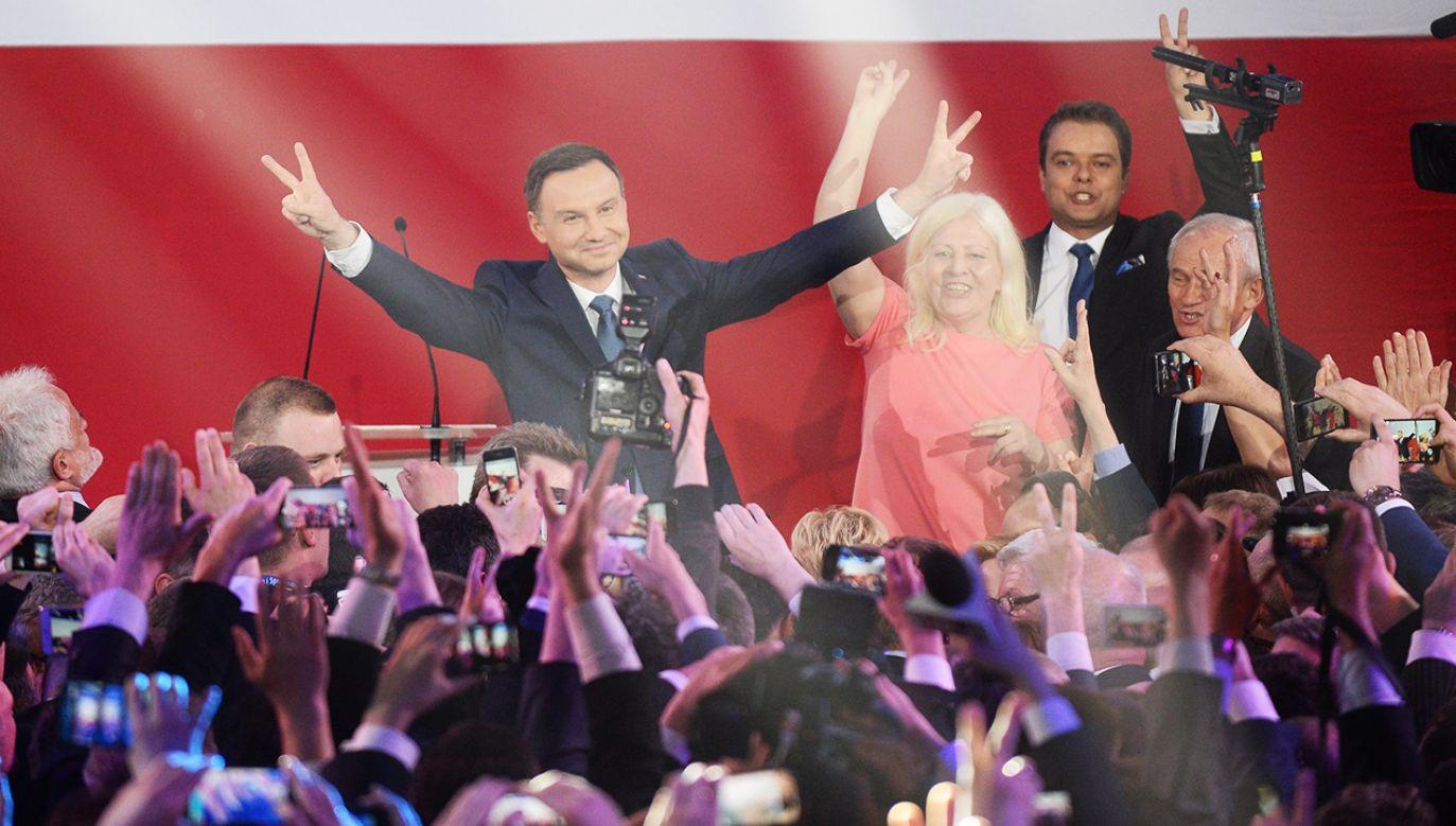 Wybory prezydenckie w 2015 roku wygrał Andrzej Duda (fot.arch. PAP/Bartłomiej Zborowski)