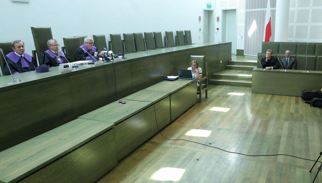 Rozprawa w sprawie kasacji w Sądzie Najwyższym (fot. Tomasz Gzell/PAP)