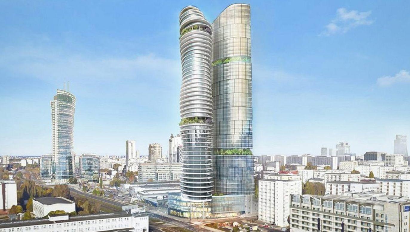 Tak miałaby wyglądać K-Towers (fot. Materiały inwestora)
