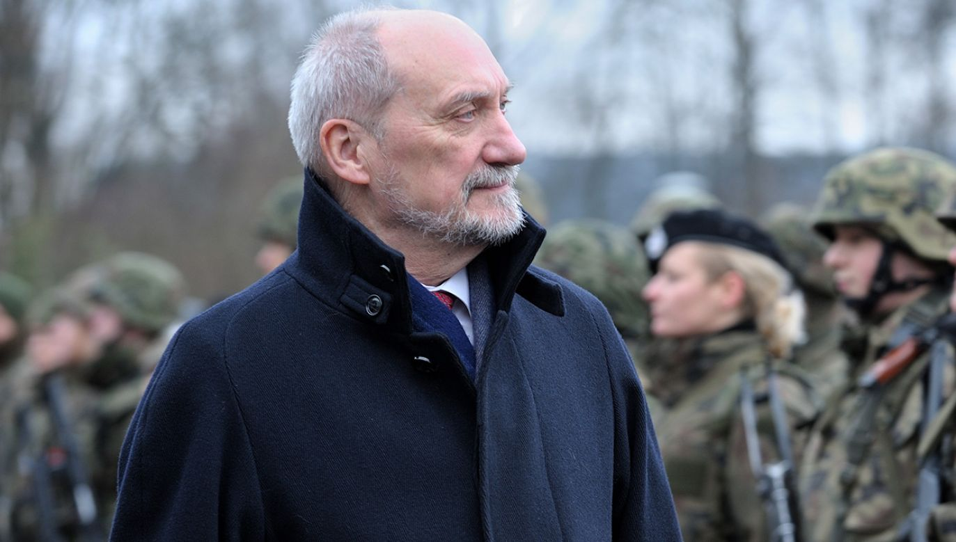 Antoni Macierewicz (fot. PAP/Przemysław Piątkowski)