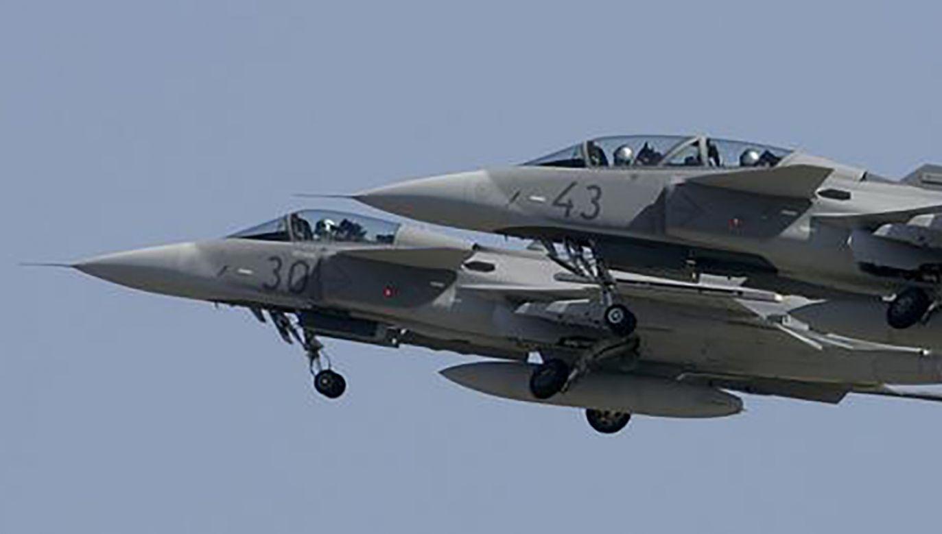 Węgierskie myśliwce Gripen (fot. REUTERS/Karoly Arvai)