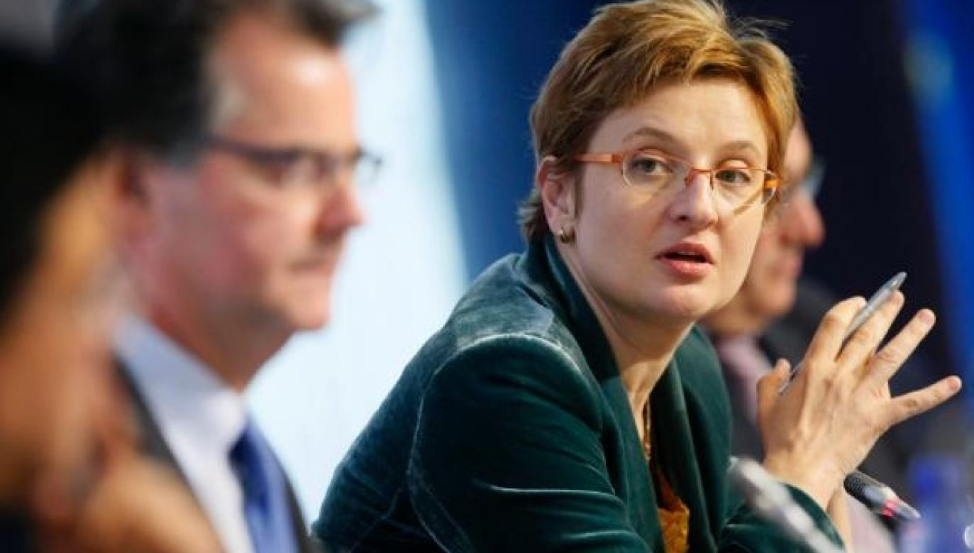 Polish woman in charge of Euratom Supply Agency. Photo: European Commission press materials