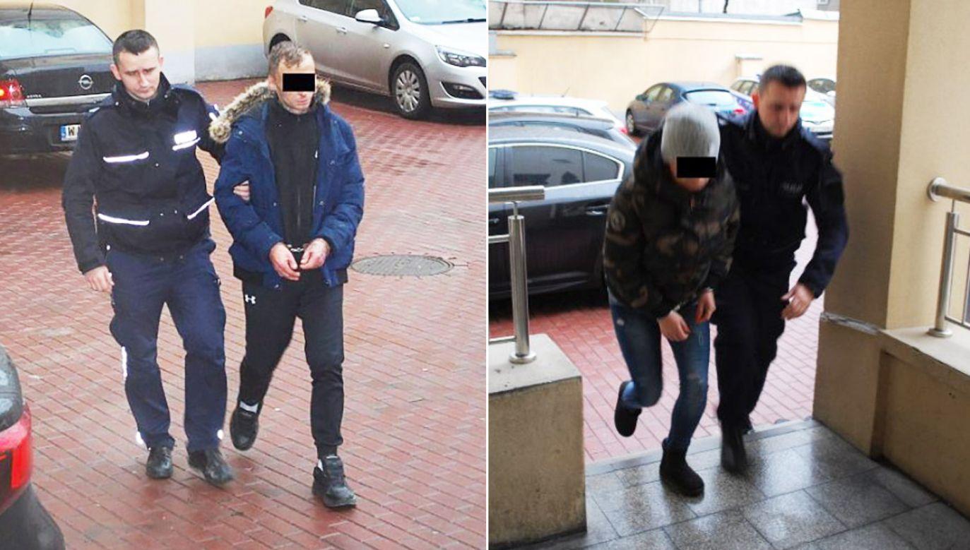 33-letnia Sylwia L. i 26-letni Michał B. przez ostatnie kilka miesięcy dokonali w sumie 28 przestępstw na kwotę ponad 26 tys. zł (fot. Komenda Stołeczna Policji)
