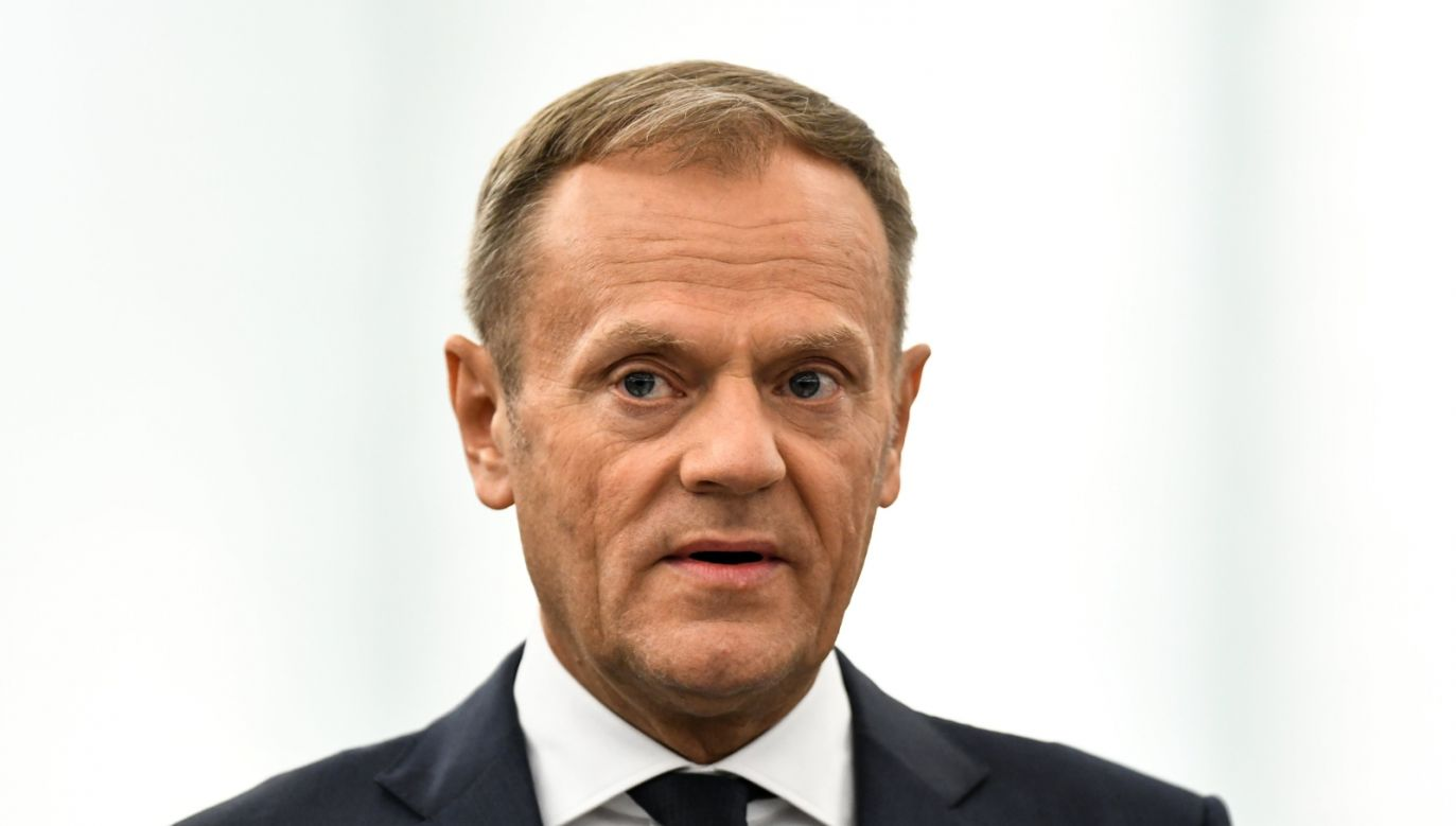 Donald Tusk European Council President may return to Polish political scene PAP/EPA/PATRICK SEEGER