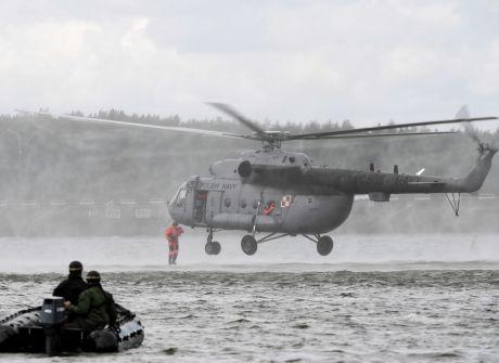 Komandosi trenowali nad Zalewem Sulejowskim