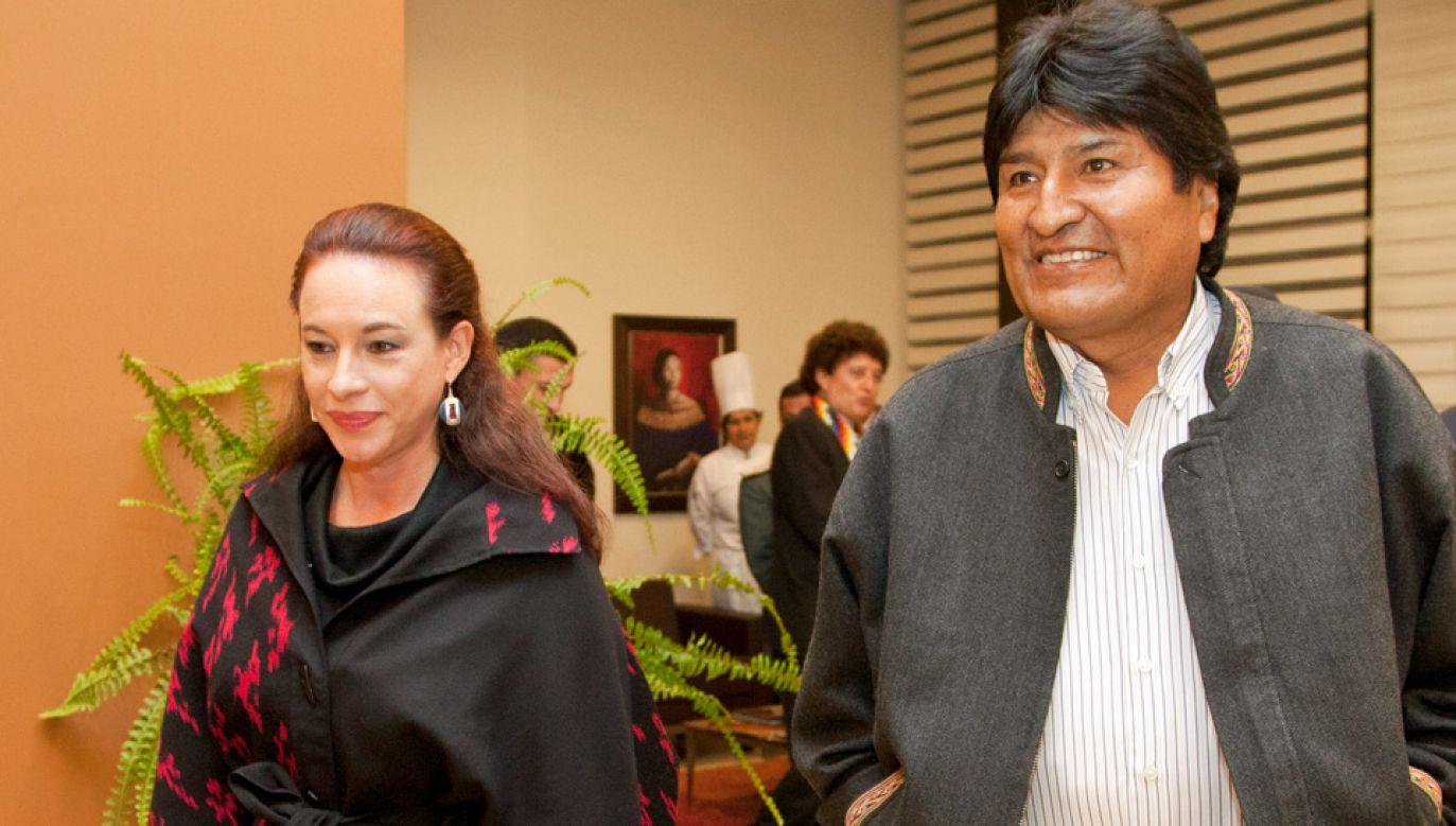 Evo Morales jest oskarżany przez opozycję m.in. o korupcję (fot. Wiki/Ricardo Patiño)