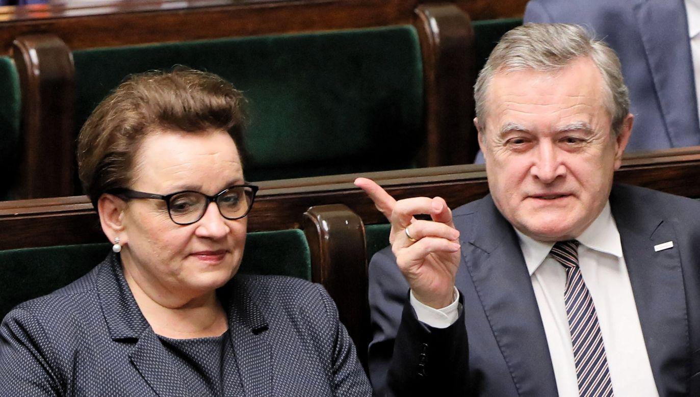 Klub PO-KO zarzucał Zalewskiej m.in. chaos w edukacji (fot. PAP/Paweł Supernak)