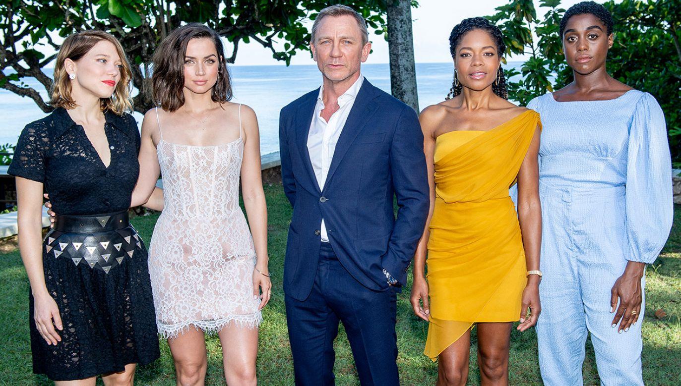 Daniel Craig po raz piąty wcieli się w rolę Jamesa Bonda (fot. Roy Rochlin/Getty Images for Metro Goldwyn Mayer Pictures)