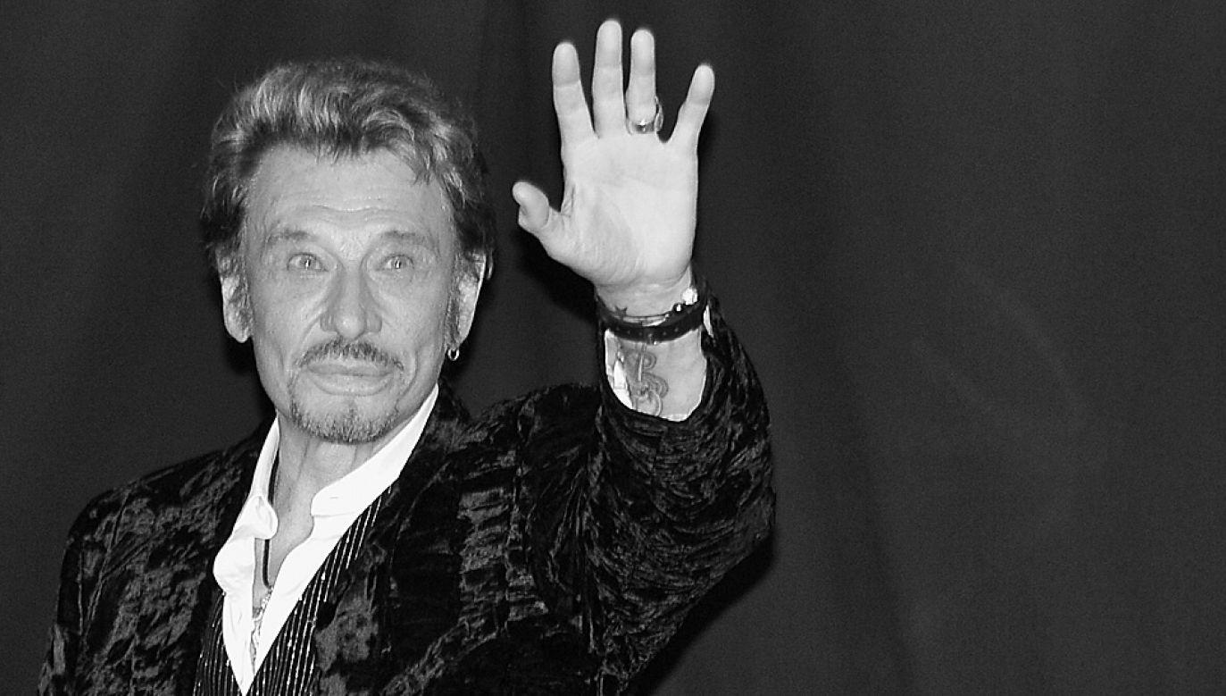 Johnny Hallyday był muzykiem i aktorem (fot. Pascal Le Segretain/Getty Images)