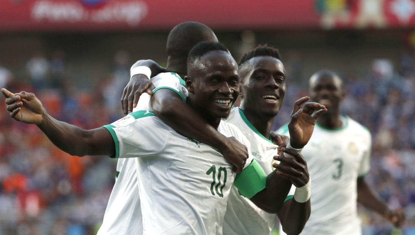 Bramka Sadio Mane dla reprezentacji Senegalu (fot. EPA/FRANCIS R. MALASIG)