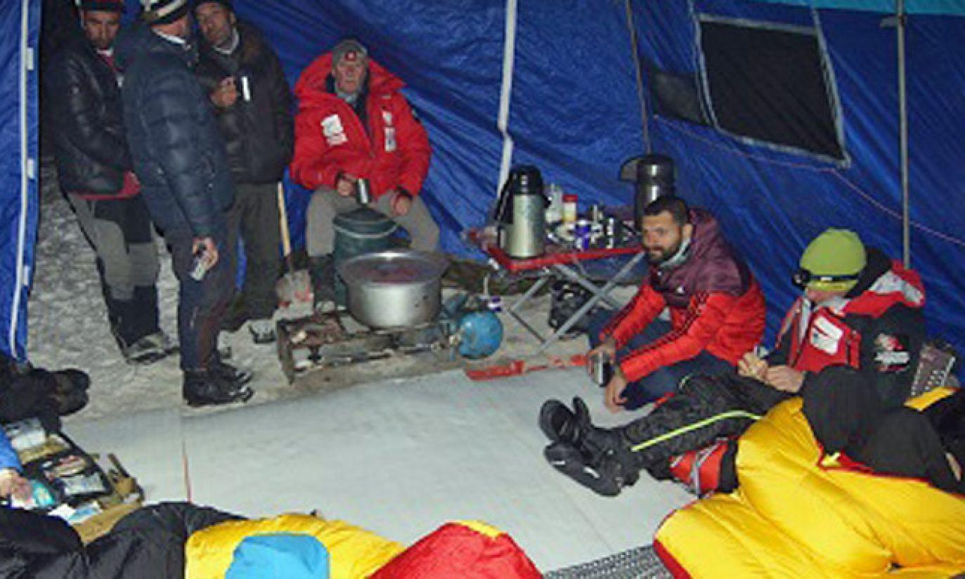 Biwak (fot. Wyprawa na K2)