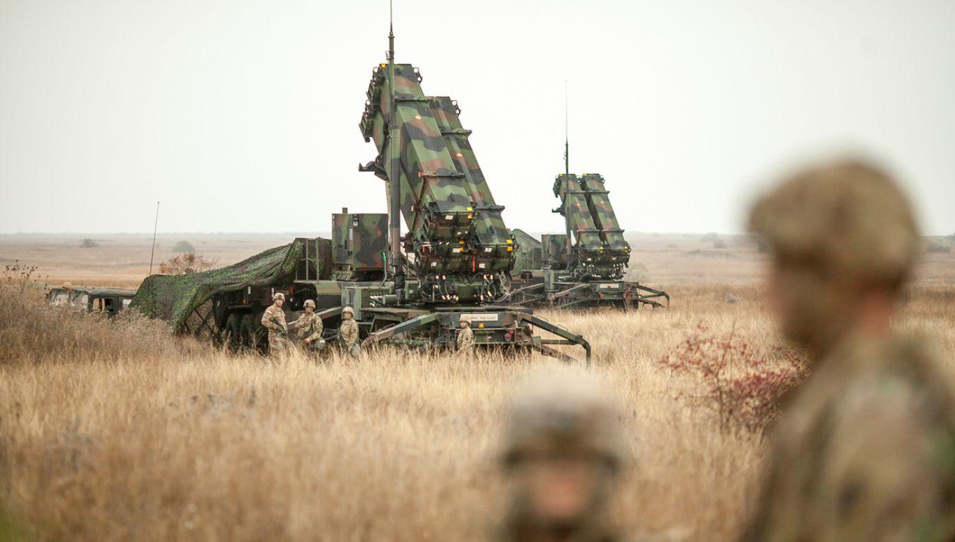 System antyrakietowy Patriot (fot. Reuters/Inquam Photos)