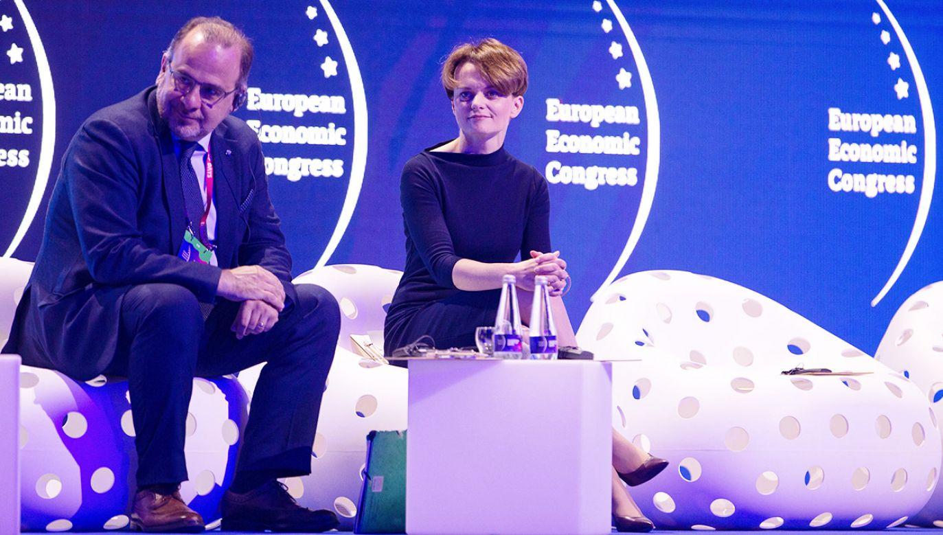 XI Europejski Kongres Gospodarczy to jedno z najważniejszych tego typu wydarzeń w Europie Środkowej (fot. PAP/Hanna Bardo)