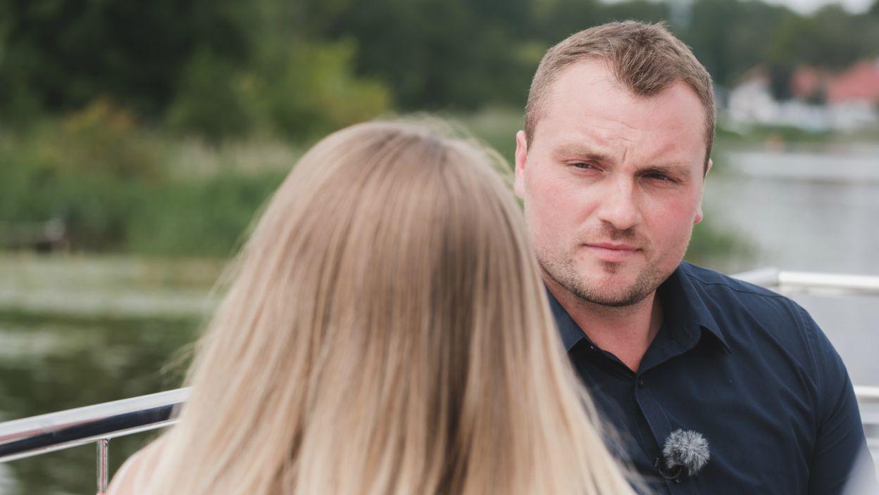 – Chciałabym wspólnej przyszłości – powiedziała Dorota, a Grzegorz nie pozostał obojętny na jej deklaracje (fot. TVP)