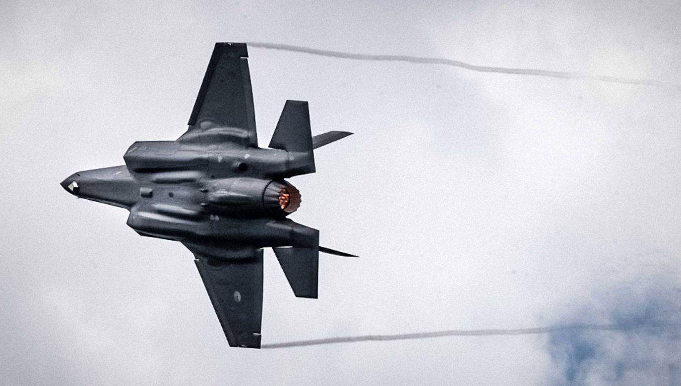 Polska chce kupić 32 myśliwce F-35 (fot.arch.PAP/EPA/ROB ENGELAAR)