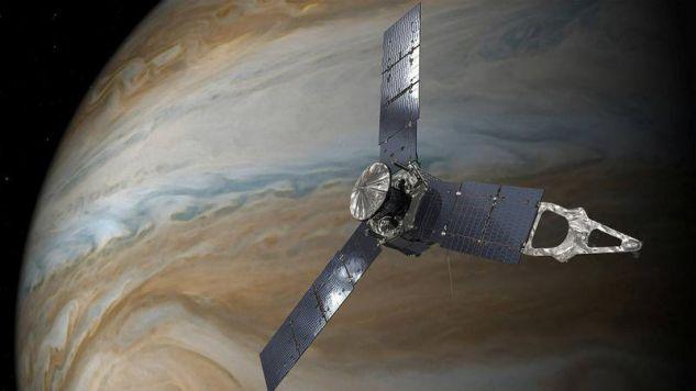 Jowisz (fot. NASA/JPL-Caltech/Handout via REUTERS )
