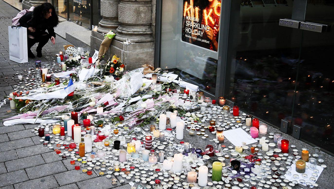 W czasie zamachu terrorystycznego w Strasburgu Polak został ciężko ranny (fot. PAP/EPA/RONALD WITTEK)