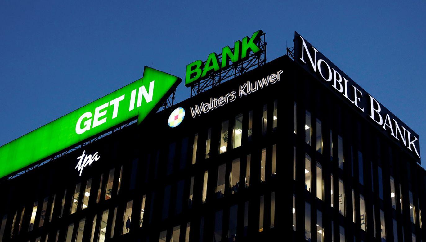 Połączenie banków nastąpi poprzez przeniesienie całego majątku Getin Noble Banku na Idea Bank (fot. REUTERS/Kacper Pempel)