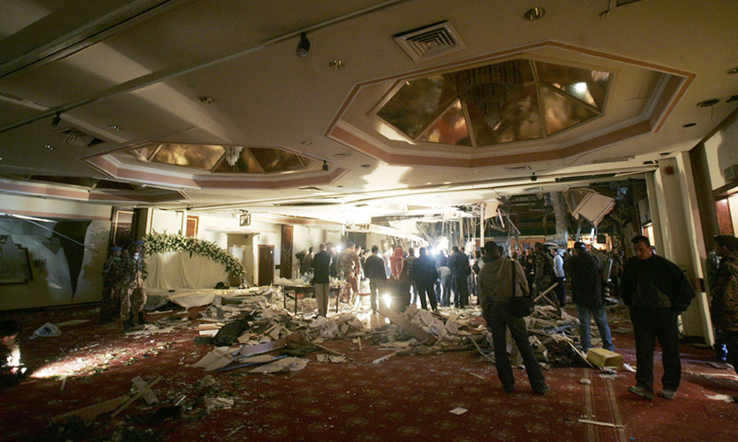 Za serią zamachów na hotele w stolicy w Jordanii stał Az-Zarkawi (fot. Salah Malkawi/Getty Images))