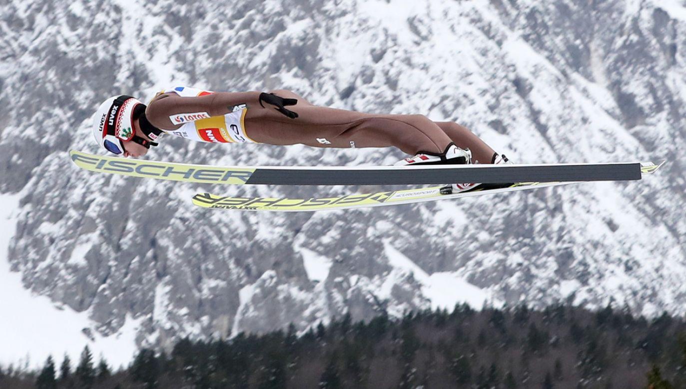 Kamil Stoch wygrał konkurs w słoweńskiej Planicy (fot. PAP/Grzegorz Momot)
