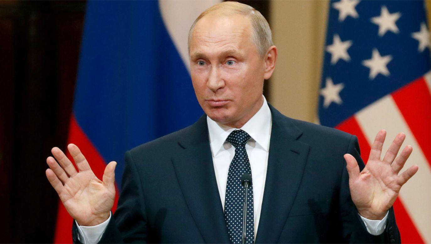 Władimir Putin przyznał, że liczył na zwycięstwo Donalda Trumpa w wyborach prezydenckich (fot. PAP/EPA/ANATOLY MALTSEV)