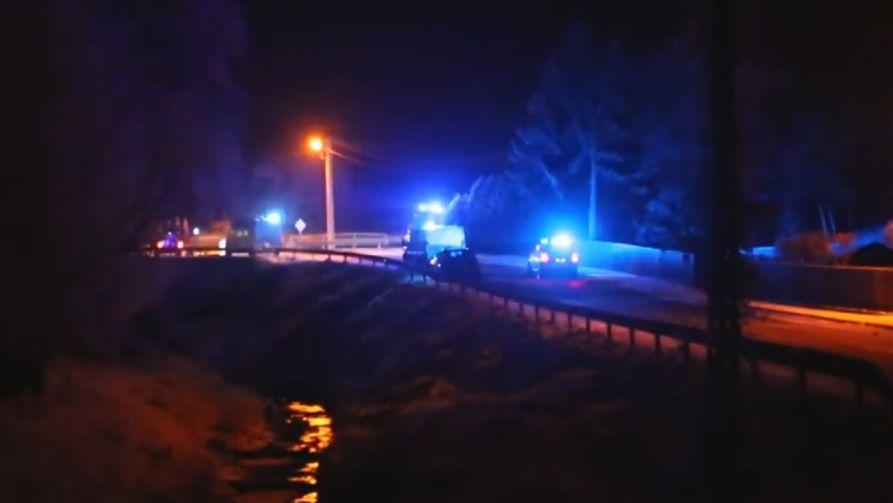 Policja zatrzymała dwóch mężczyzn podejrzewanych o udział w wypadku, w którym zginęły trzy osoby (fot. YouTube)