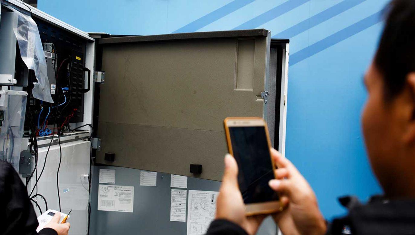 Chińskie firmy telekomunikacyjne mają problemy w wielu krajach (fot. REUTERS/Thomas Peter)