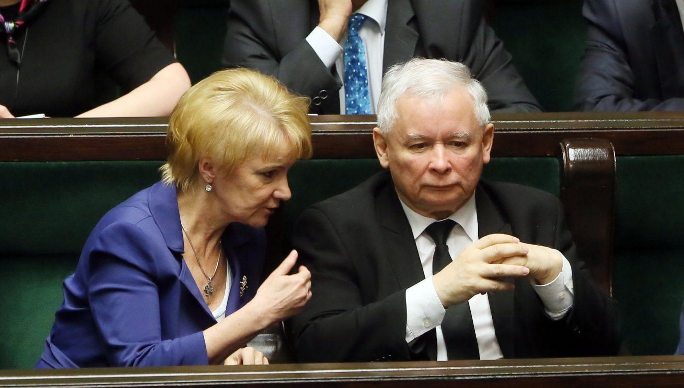 Posłanka PiS Jolanta Szczypińska zmarła w sobotę, 8 grudnia (fot. PAP/Tomasz Gzell)
