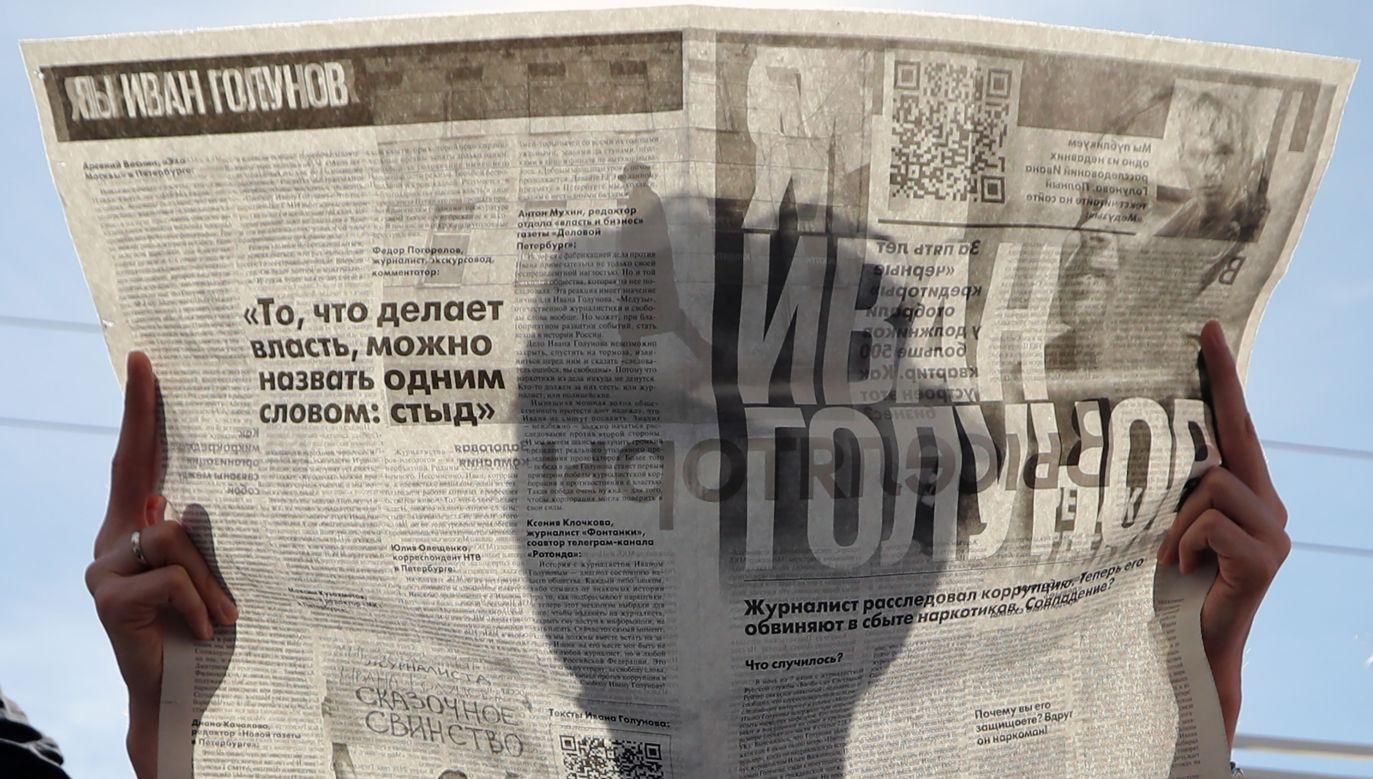 Aleksander Wienediktow: do tej pory nie przedstawiono dowodów potwierdzających, że Rosja próbowała wpłynąć na wynik wyborów (Photo by Peter Kovalev\TASS via Getty Images)