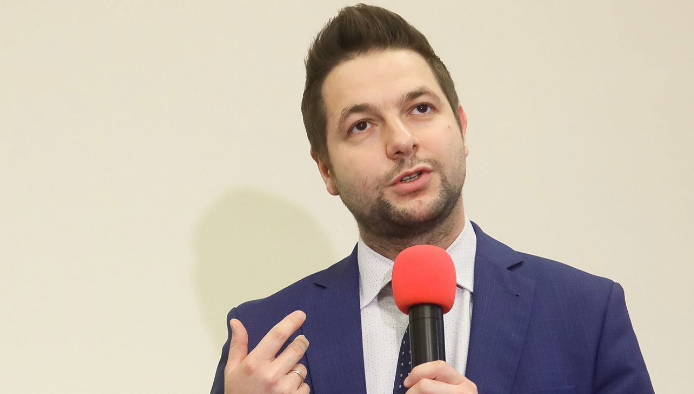Wiceminister finansów Patryk Jaki  (fot. PAP/Paweł Supernak)
