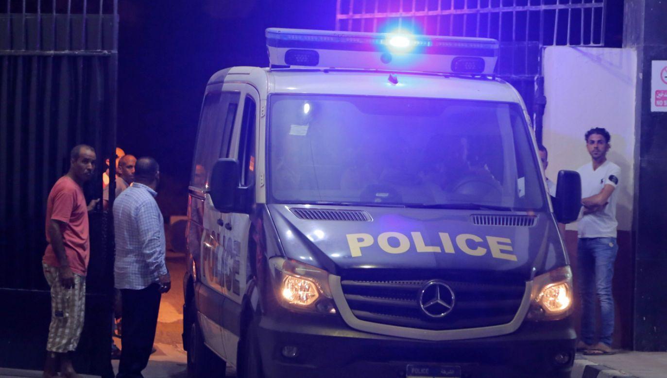 Przyczyna eksplozji nie jest jeszcze znana (fot. REUTERS/Mohamed Abd El Ghany)
