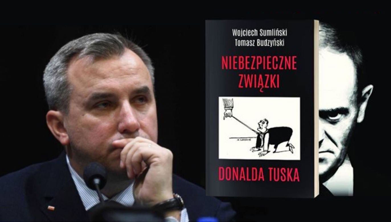 Autor książki o Tusku Wojciech Sumliński twierdzi, że akcja promocyjna jego książki w Warszawie jest blokowana (fot. FB/Wojciech Sumliński)