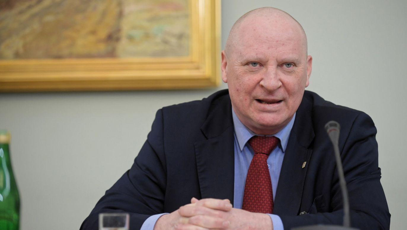 B. dyrektor Biura ds. Przestępczości Zorganizowanej Prokuratury Krajowej Krzysztof Parchimowicz (fot. PAP/Marcin Obara)