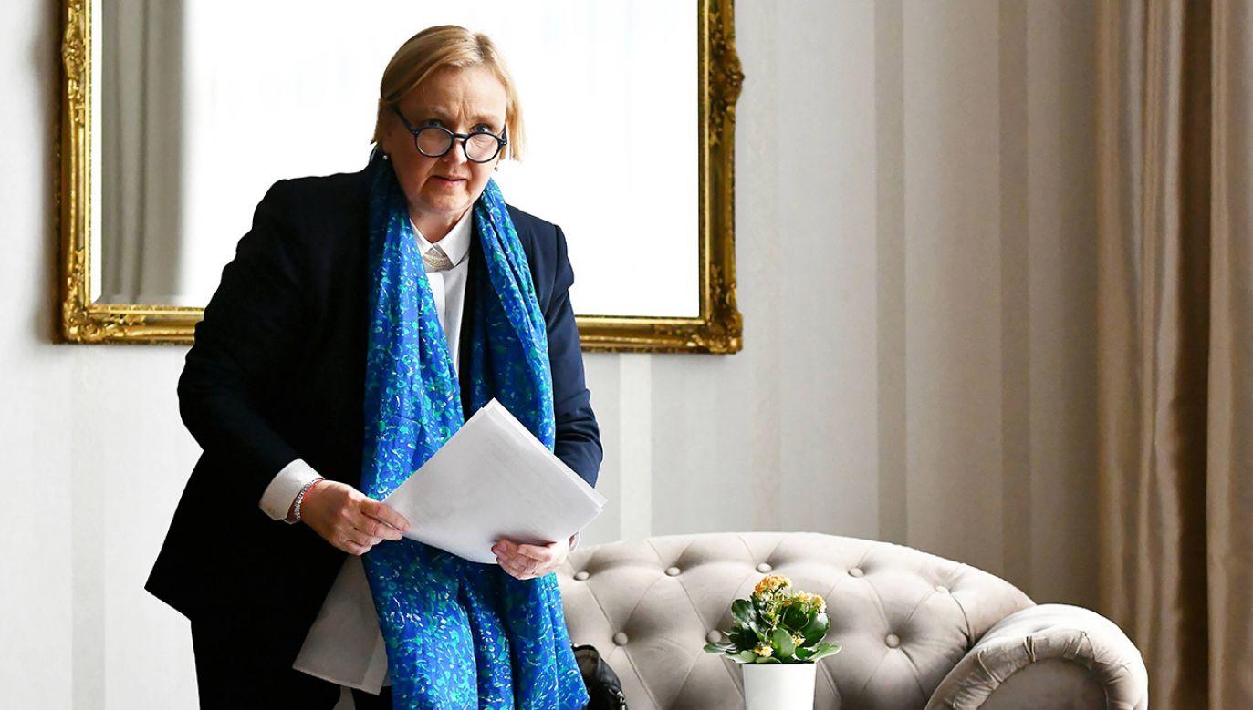 """Poprawka Róży Thun nie zawierała """"żadnych konkretnych zaleceń"""" (fot. arch. PAP/Piotr Polak)"""