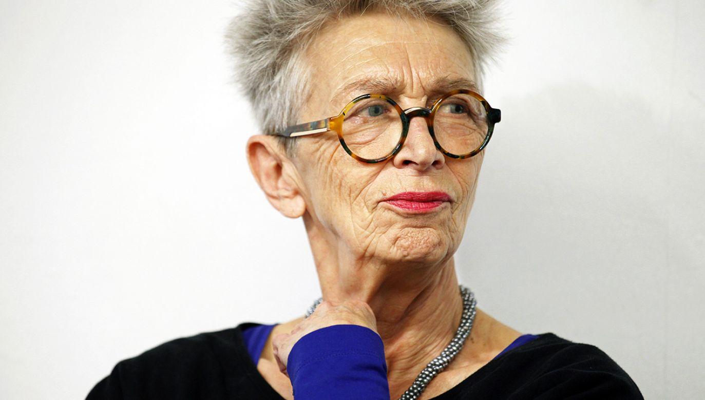 Anda Rottenberg (fot. arch.PAP/Artur Reszko)