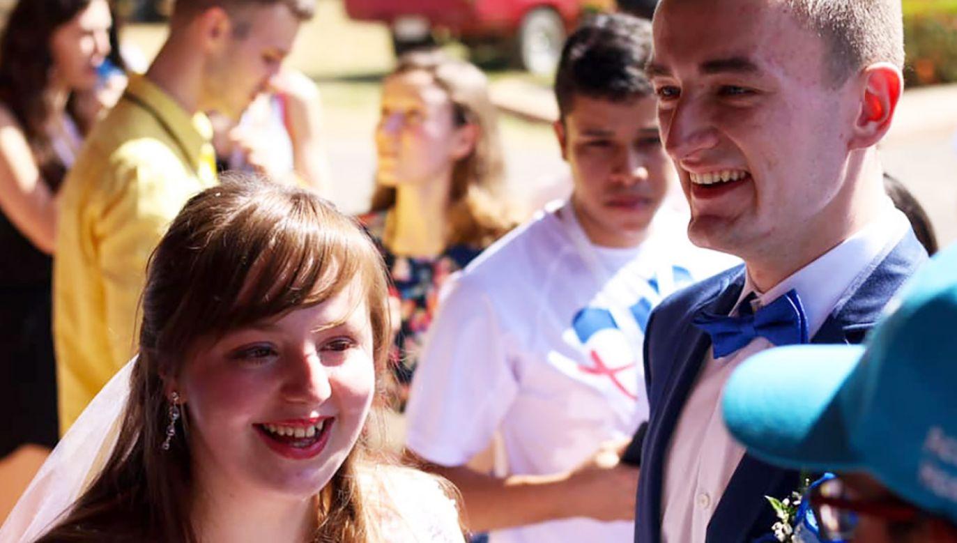 Martyna i Kuba po raz pierwszy spotkali się na Światowych Dniach Młodzieży w Krakowie (fot. FB/ŚDM Panama - Archidiecezja Krakowska)