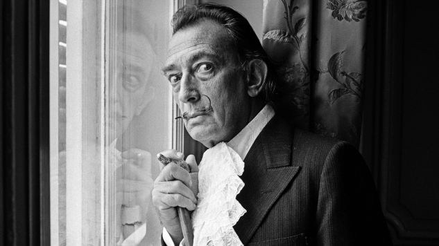 Salvador Dali (1904-89) w 1964 r. (fot. Terry Fincher/Daily Express/Hulton Archive/Getty Images) Restrictions
