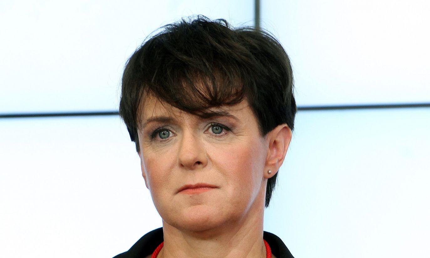 Joanna Kluzik-Rostkowska przyjęła tekę ministra edukacji narodowej (fot. PAP/Radek Pietruszka)