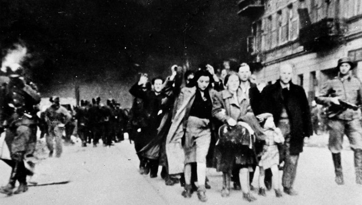 Ponad 250 tys. Żydów wywieziono do obozu zagłady w Treblince (fot. arch.PAP/CAF- Archiwum)