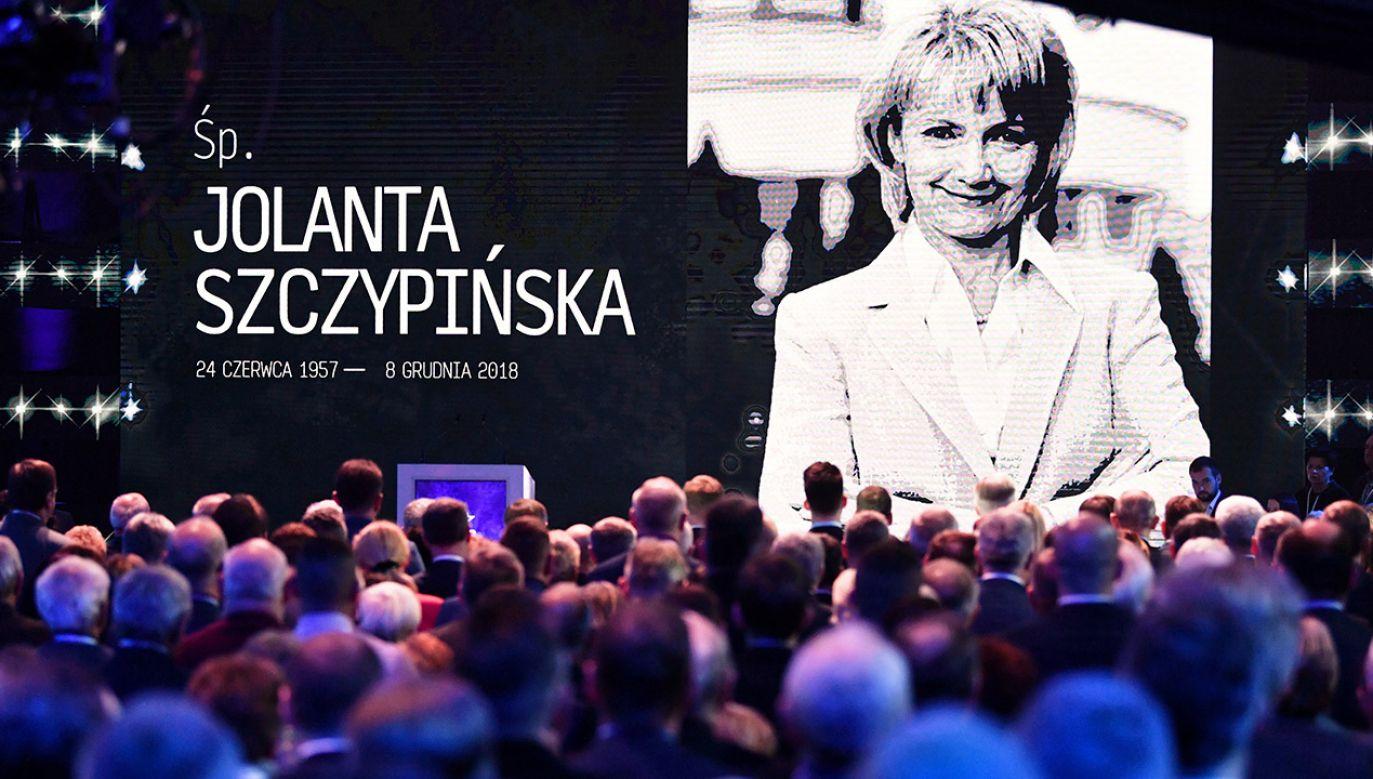 W poniedziałek odbędzie się pogrzeb Jolanty Szczypińskiej (fot. PAP/Bartłomiej Zborowski)