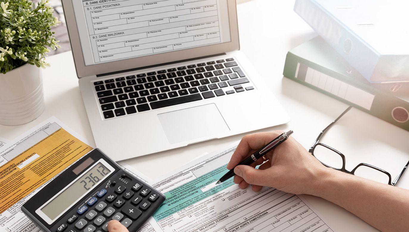 Dwie piąte podatników skorzystało z usługi Twój e-PIT (fot. Shutterstock/Proxima Studio)