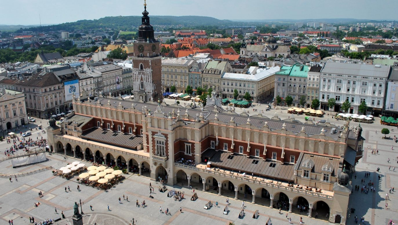 A total of 13.5 mln people visited Kraków, Southern Poland, in 2018. Photo: Wikimedia Commons/Maatex