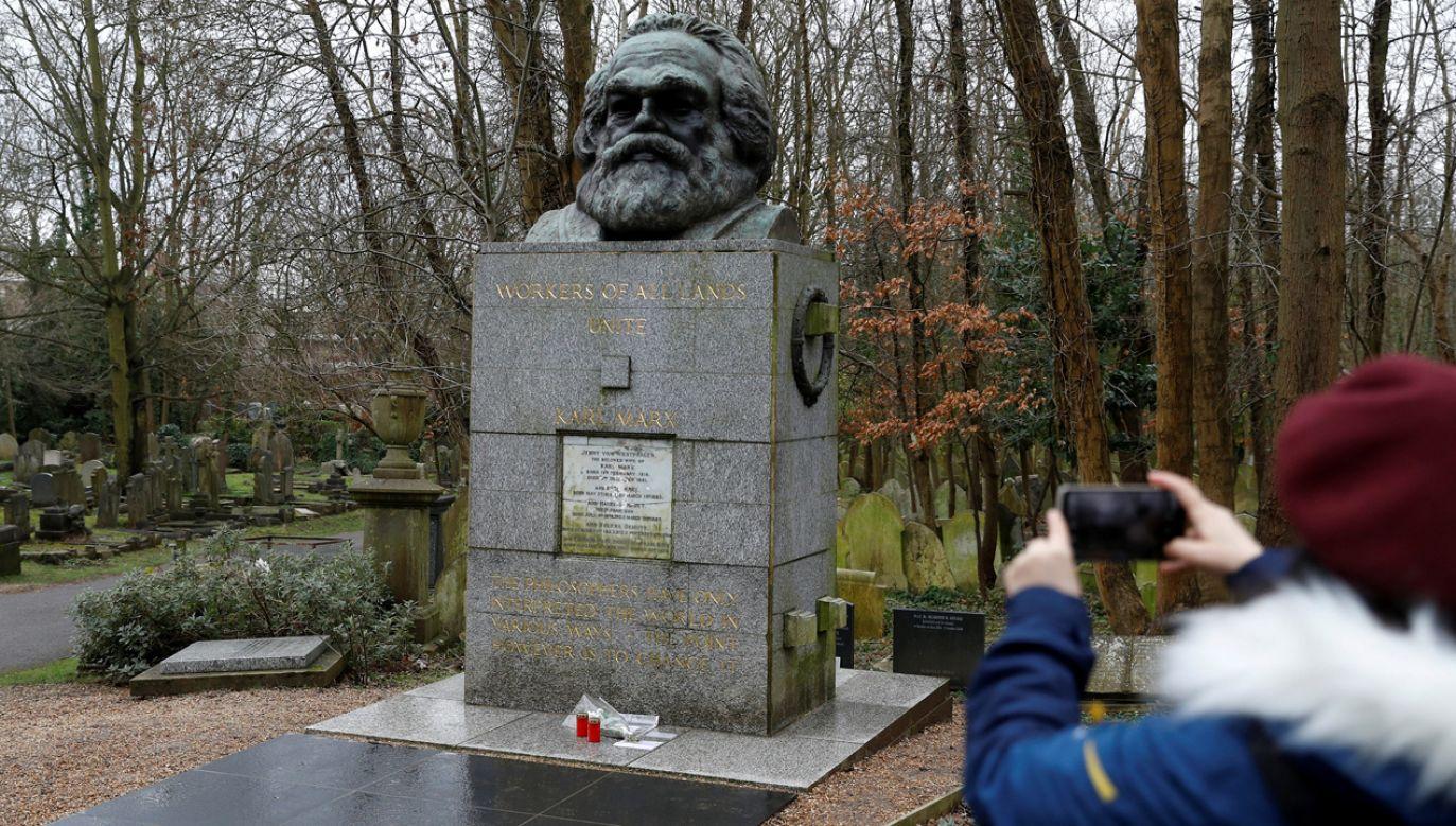 Nagrobek Karola Marksa (fot. REUTERS/Peter Nicholls)