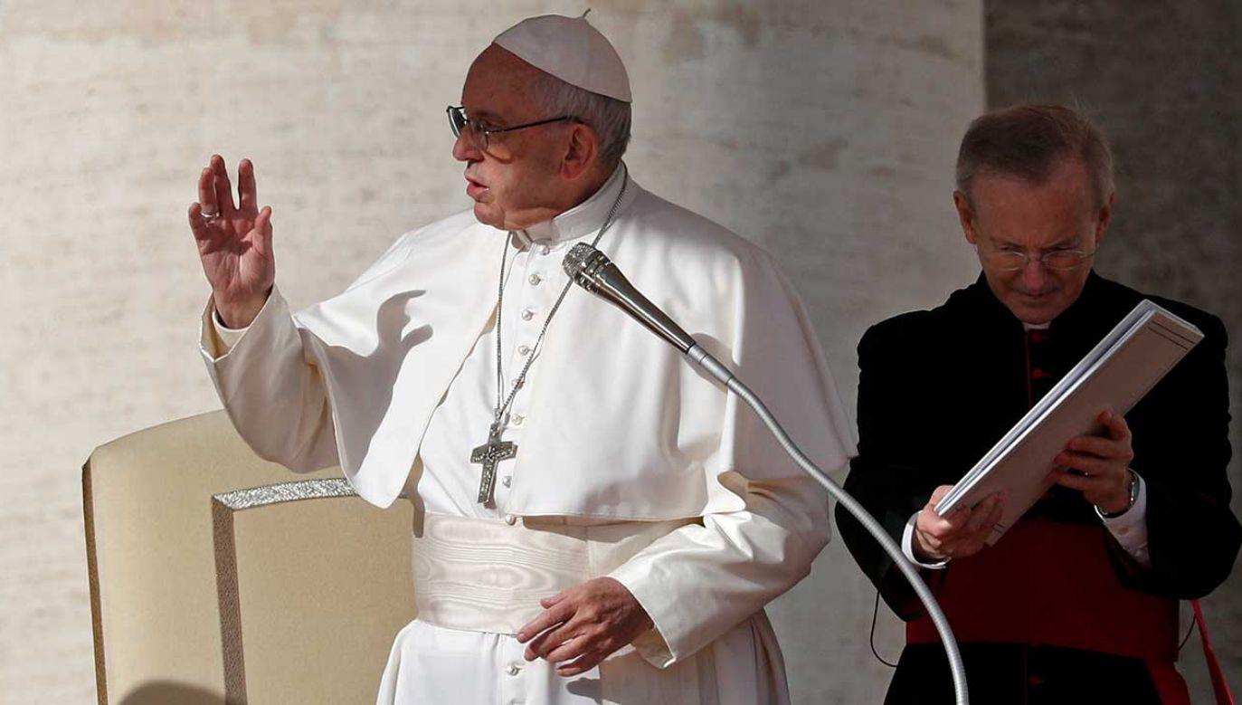 Papież Franciszek (fot. REUTERS/Max Rossi)