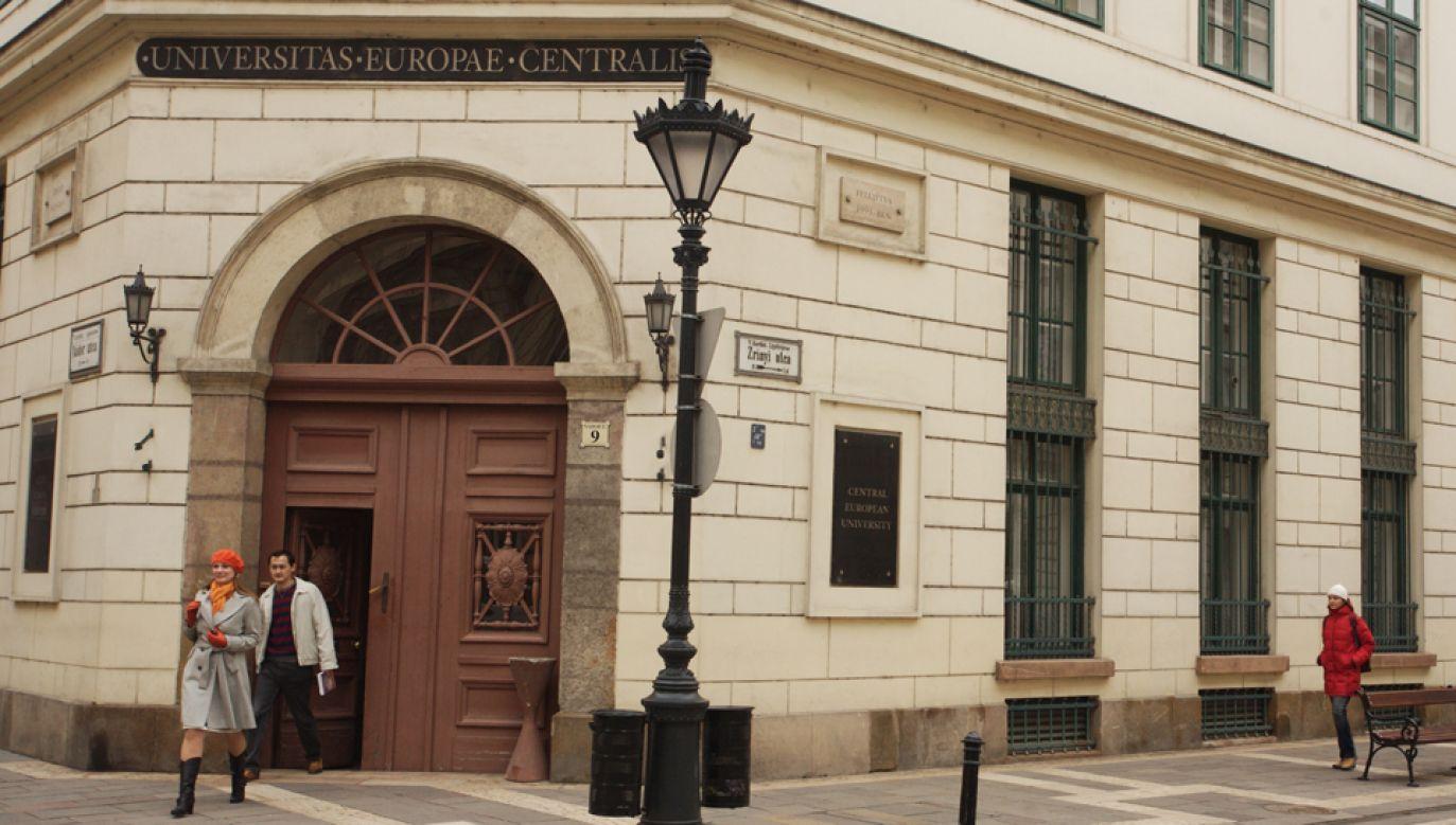 Uniwersytet Środkowoeuropejski w Budapeszcie (fot. Wikimedia Commons/Gphgrd01)