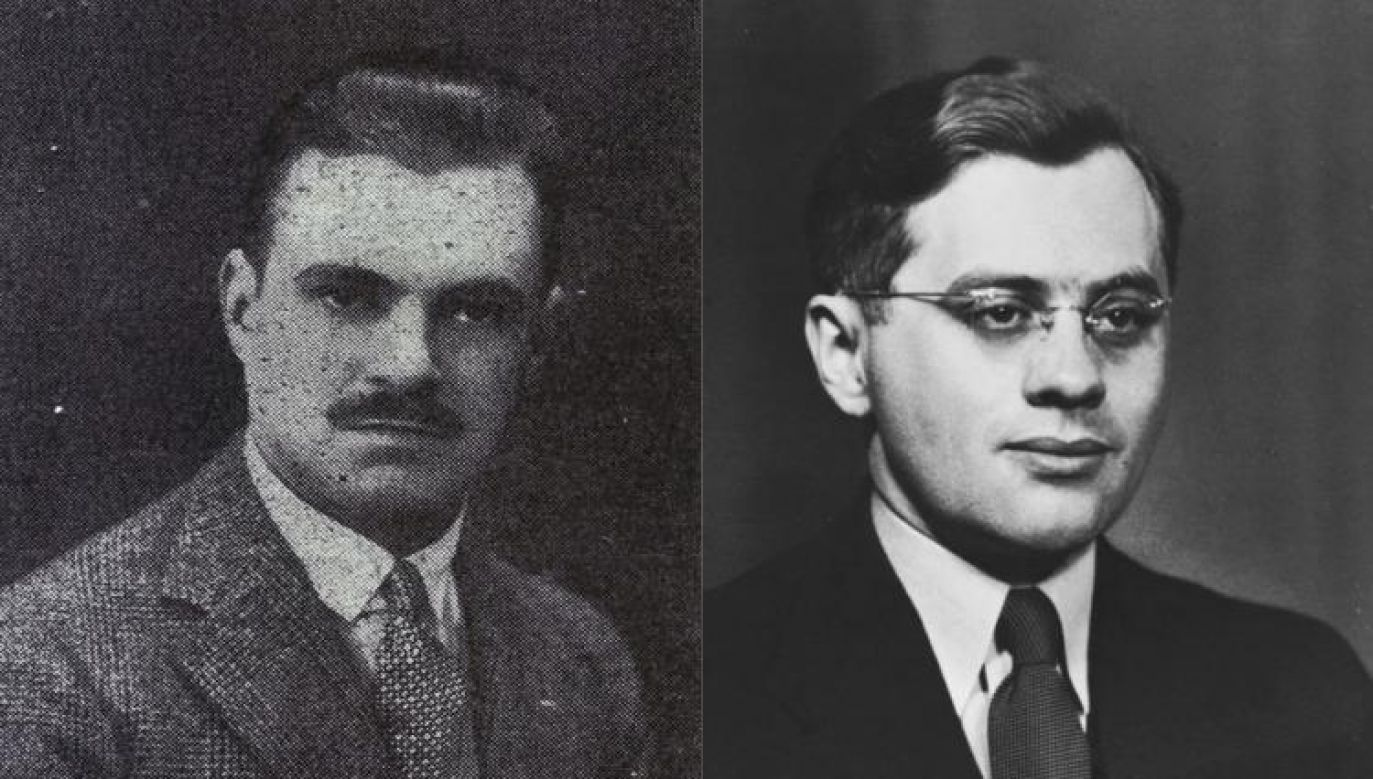 Konstanty Rokicki and Juliusz Kühl - Polish diplomats involved in saving Jews from Holocaust. Photo: Polish Embassy in Bern