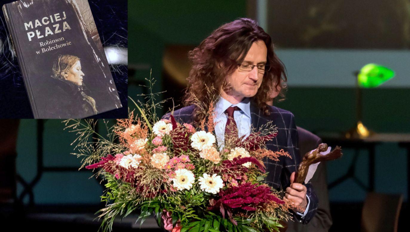 Maciej Płaza otrzymał Literacką Nagrodę Europy Środkowej Angelus, za książkę