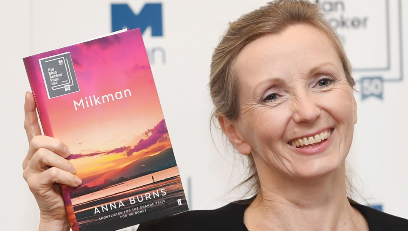 Anna Burns jest pierwszą pisarką z Irlandii Północnej, która otrzymała Nagrodę Bookera (fot. PAP/EPA/FACUNDO ARRIZABALAGA